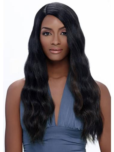Black Exquisite Straight Capless Afro Synthetic Wigs