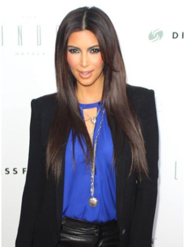 Capless Layered Long Fashion Kim Kardashian New Look