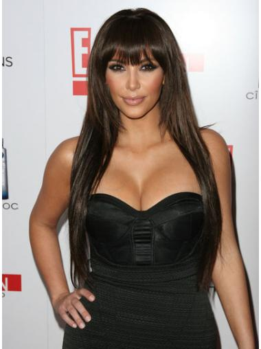 Lace Front With Bangs Beautiful Kim Kardashian And Her Wigs