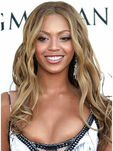Beyonce Blonde Hair Wavy Synthetic
