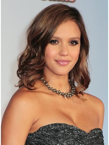 Capless Wavy 14 Inches Good Wigs By Jessica Alba