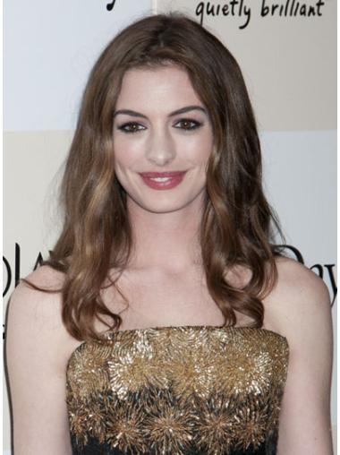 Brown Wavy Long Amazing Anne Hathaway Wigs
