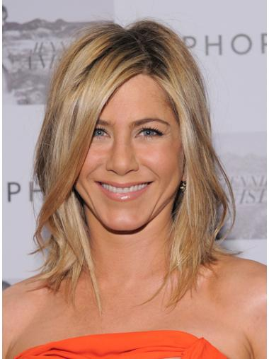 Lace Front Layered Shoulder Length 13 Inches Wig Like Jennifer Aniston