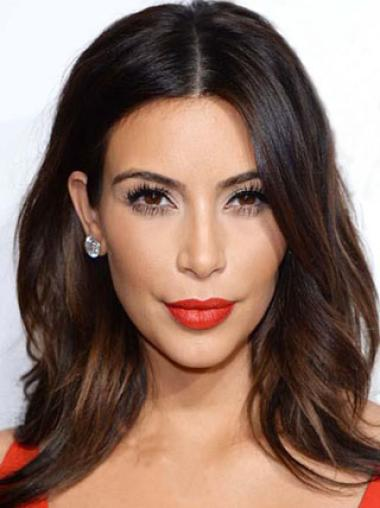 Wig Collection By Celebrity Remy Human Hair 14 Inches Top Kim Kardashian