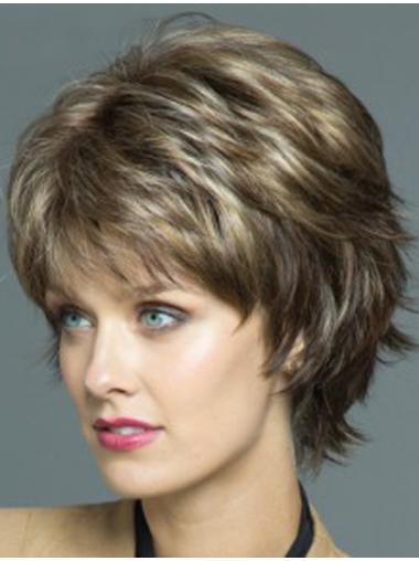 Amazing 7 Inches Synthetic Wavy Short Wig Hair