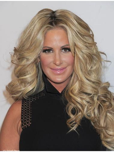 """24"""" Long Curly Sassy Human Remy Hair Wigs"""