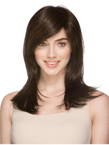14 Inches Discount Shoulder Length Layered Monofilament Wigs