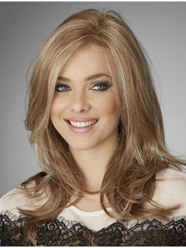Natural Wavy Long Blonde Wig Human Hair