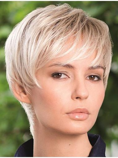 6 Inches Boycuts Short Capless Synthetic Wigs