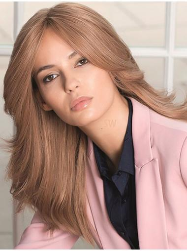"""The Best Natural Looking Wigs Monofilament Long 22"""" Popular"""