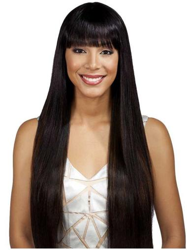 Comfortable Synthetic 26 Inches Long Synthetic Wigs
