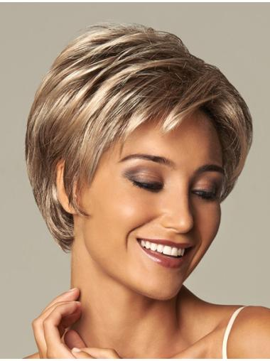 Soft Synthetic 8 Inches Short Synthetic Wigs