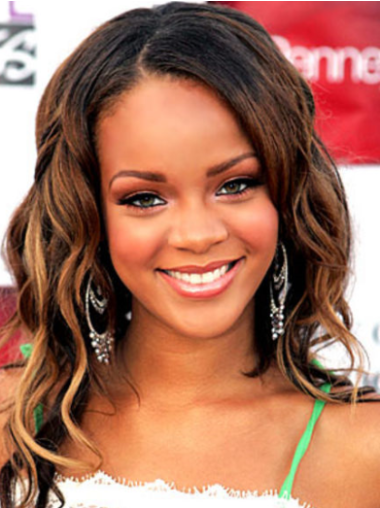 Ombre/2 Tone Layered Wavy Online Rihanna Wig Hair Style