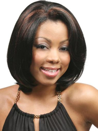 Black Chin Length Lace Front Bob Wigs For Black Women
