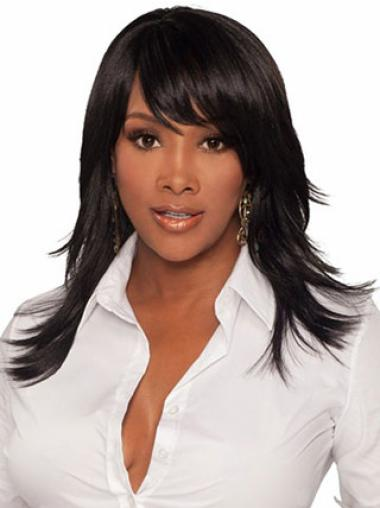Top Straight 18 Inches Long Wigs For Black Women