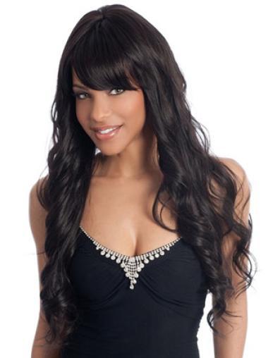 Fabulous Wavy Long 28 Inches Wig For Black Women