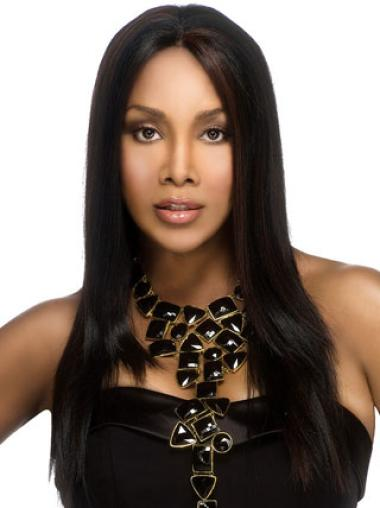 Synthetic Straight Black Beautiful Wigs For Black Women