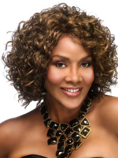 Beautiful Synthetic Layered Curly Wigs For African Americans