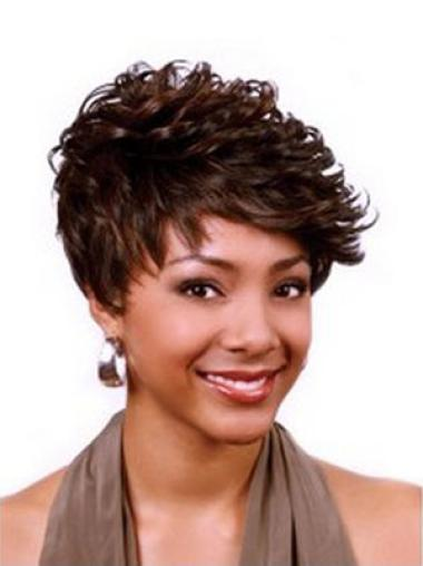 Auburn Affordable Curly Auburn Wigs For African Americans