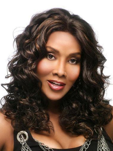 Wavy Capless Synthetic Black Women Wigs