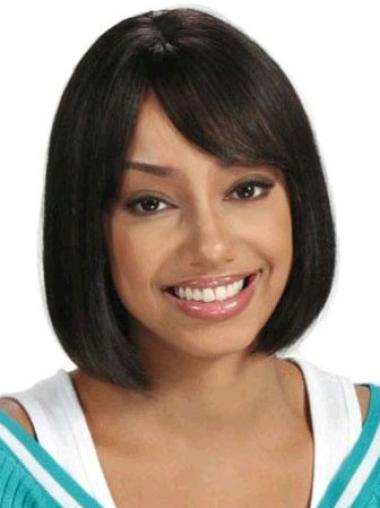 Best Black Straight Capless African American Wigs Bobs