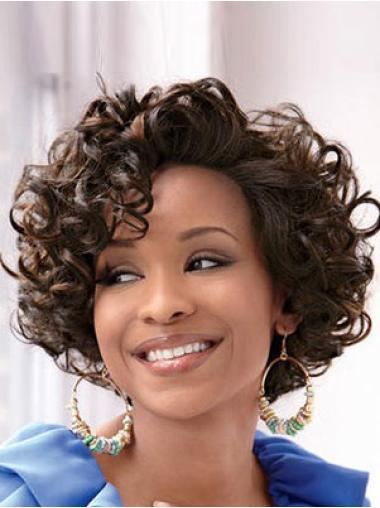 Black Curly Best Capless Wigs For Black Women