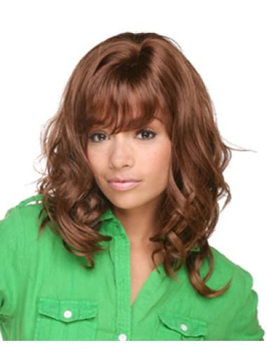 Shoulder Length Layered African American Curly Styles Wigs
