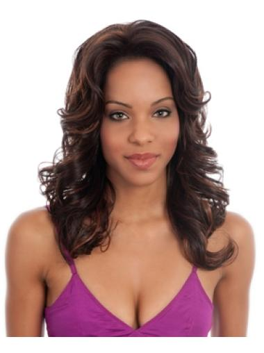 Long Without Bangs Curly Wig Hairstyles African American