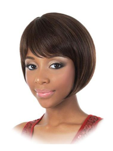Bobs Straight 2018 African American Human Hair Wigs