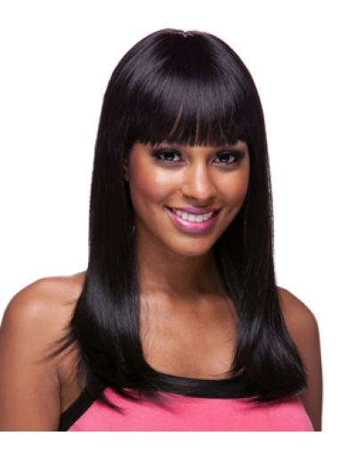 Discount Capless Wigs Online For Black Women With Bangs
