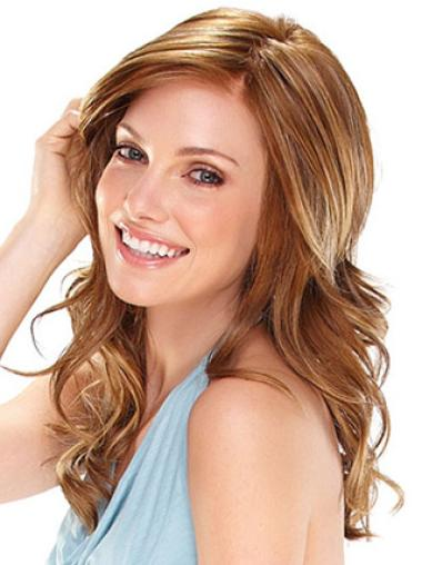 Best Synthetic Lace Front Wig Brand Auburn Wavy Long Hair