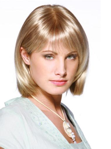 Lace Front Blonde Chin Length Online Bob Lace Wigs For Sale