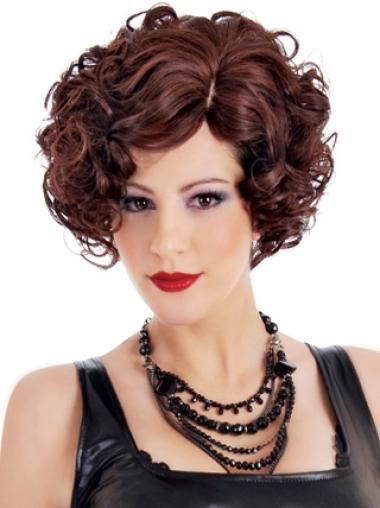Short Curly Stylish Classic Better Quality Synthetic Wigs