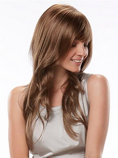 Long Soft Auburn Wavy The Best Synthetic Hair Wigs