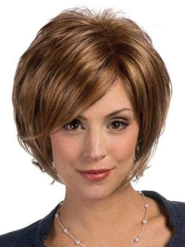 Lace Front Straight Chin Length Heat Friendly Synthetic Wig