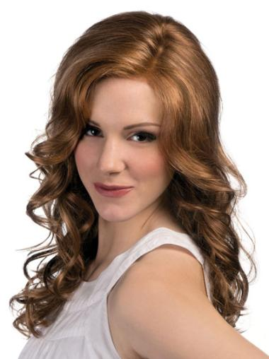 Sleek Long Layered Curly Synthetic Lace Wigs