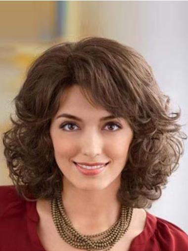 Fashion Synthetic Wavy Classic Natural Hairline Lace Front Wigs