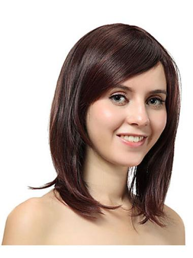 Layered Synthetic 12 Inches Straight Best Capless Natural Looking Wigs