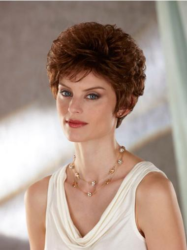 Wavy Capless Auburn Classic Great Short Synthetic Wig