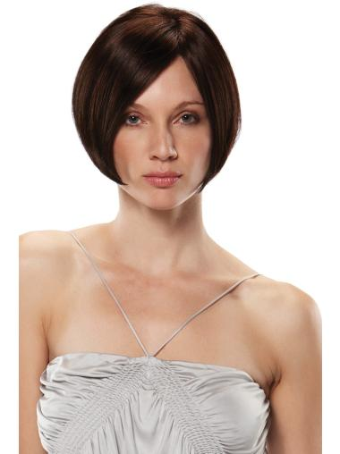 Sassy Bobs Short Straight 8 Inches Monofilament Synthetic Wigs