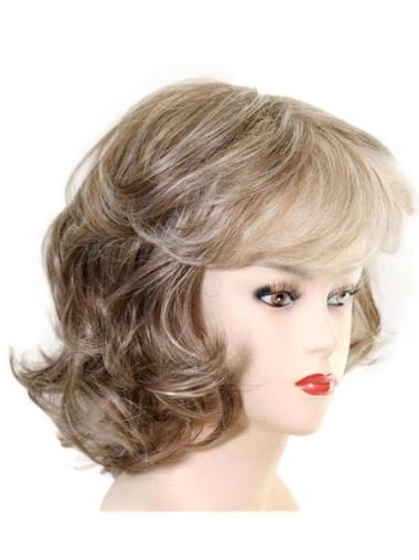 New Capless Chin Length Layered Heat Resistant Synthetic Wig