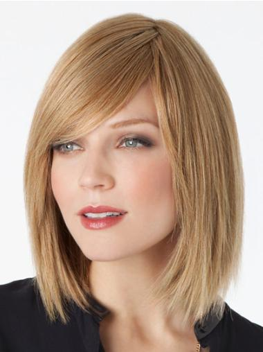 Blonde Lace Wigs Straight Human Hair Straight Incredible Bobs