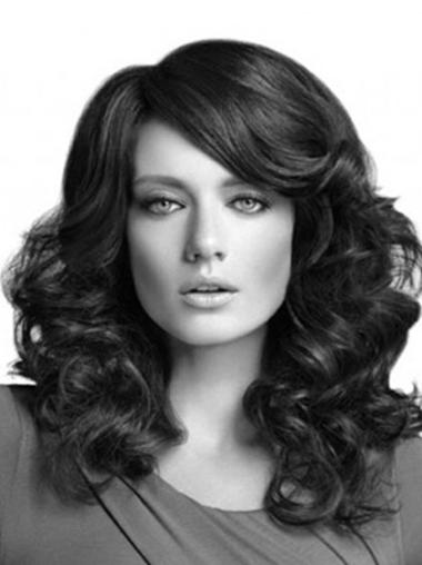 Synthetic Lace Front Online Long Curly Wig