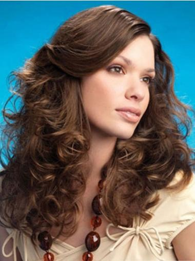 Incredible Lace Front Curly Layered Synthetic Cheap Nice Long Wigs