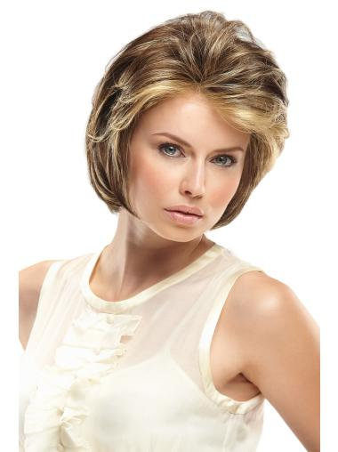 Layered Wavy Modern Synthetic Blonde Lace Front Wig