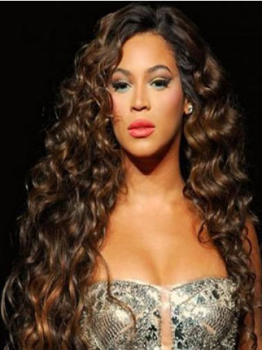 """Lace Front Auburn Without Bangs Synthetic 26"""" Cheap Beyonce Wigs"""