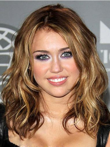 Celebrity Collection Wig Dress Layered Wavy Shoulder Length Synthetic Suitable Miley Cyrus