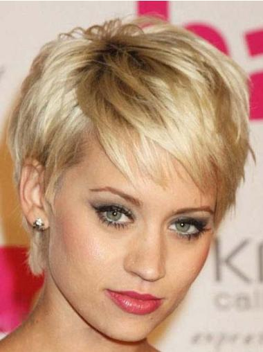 Capless Boycuts Cropped Fabulous Celebrity Wigs