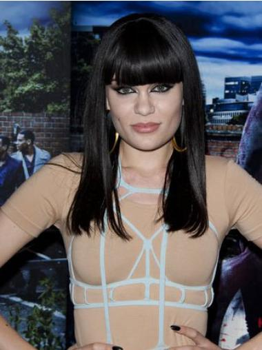 Black Long Celebrity Quality Wigs Cheapest Jessie J