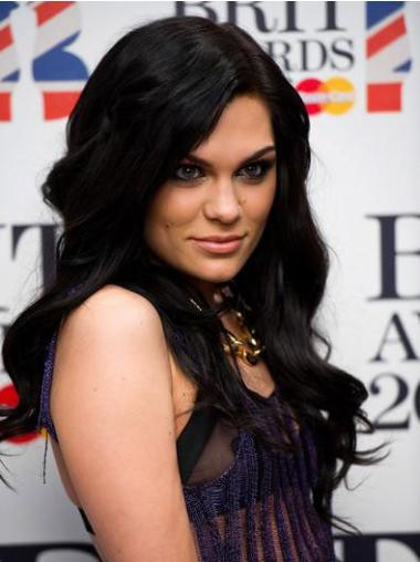 Celebrity Lace Front Wigs Black Long 16 Inches Incredible Jessie J